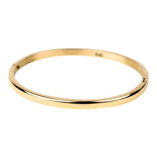 Bangle rounded shiny smal