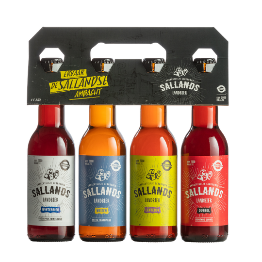 4-pack Sallands Landbier gemengd