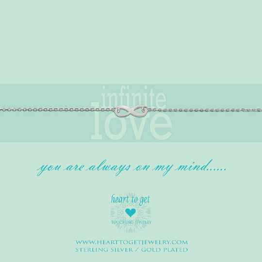 Heart to Get armband Infinity B87INF12S
