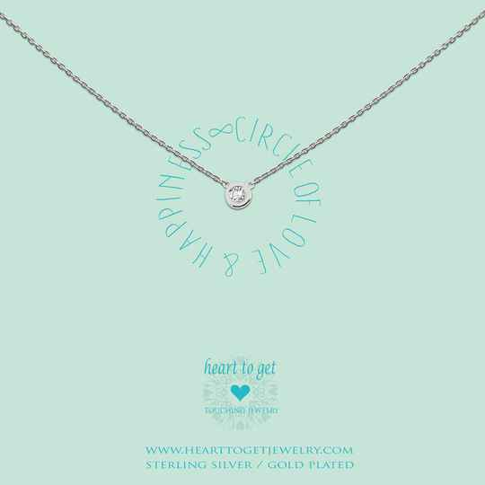 Heart to Get Collier Circle Zirkon N196CIZ13S