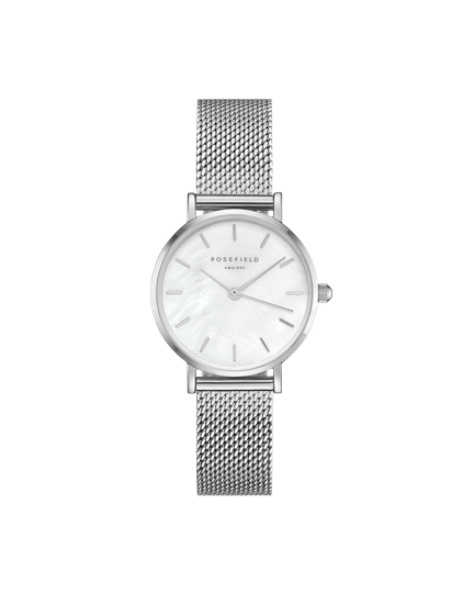 Rosefield The Small Edit White Silver 26WS-266