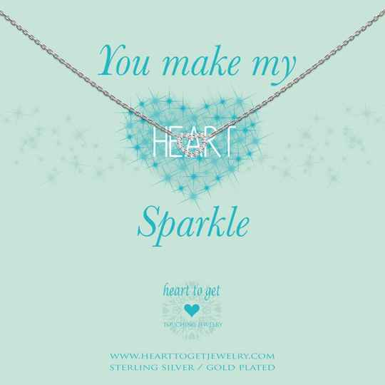 Heart to Get Collier Open Heart Zirkon small N238OPZ15S