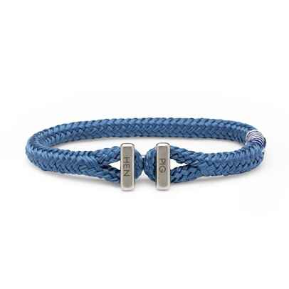 Armband Pig & Hen Icy Ike Violet Blue | Silver
