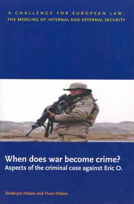 When does war become crime?