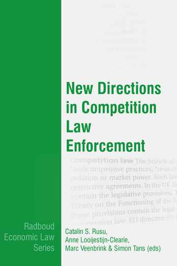New Directions in Competition Law Enforcement