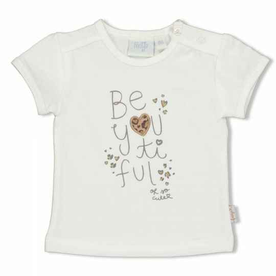 SS21 Feetje 51700651 T-shirt Panther Cutie offwhite