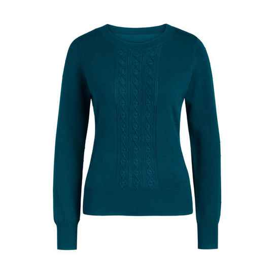 AW22 King Louie Cable top Droplet orient blue 06380 301