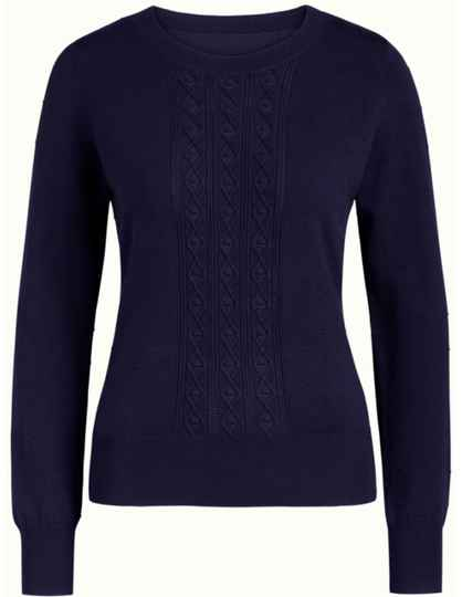 AW22 King Louie Cable Top Droplet blue 06380 413