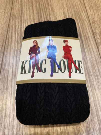 King Louie Panty Thights Cable Black