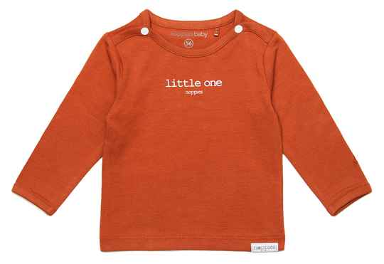 Basis-N Noppies shirtje Hester Spicy Ginger 67383 P557 Basic Collection