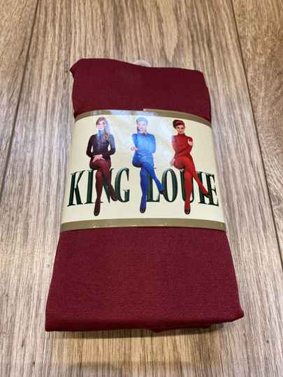 King Louie Panty Thights Solid Jester Red 120 denier