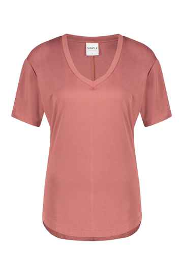 SS21 Simple Top SS Lisa FC_Pique-01 dusty rose