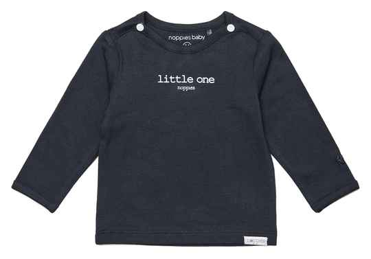 Basis-J Noppies shirtje Hester Charcoal 67383 C271 Basic Collection