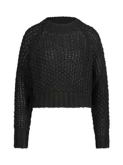 AW22 Simple trui Aksel  virgin knitted sweater black