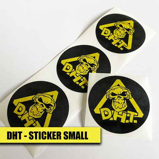DHT - Sticker Small (set of 4)