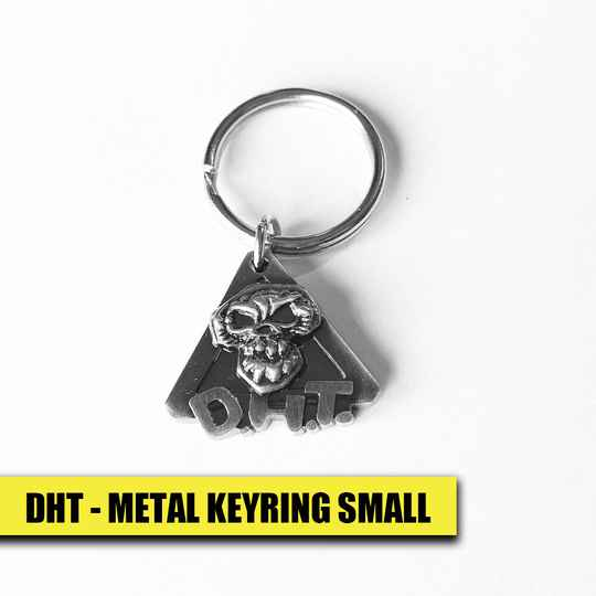 DHT Metal Keyring Small