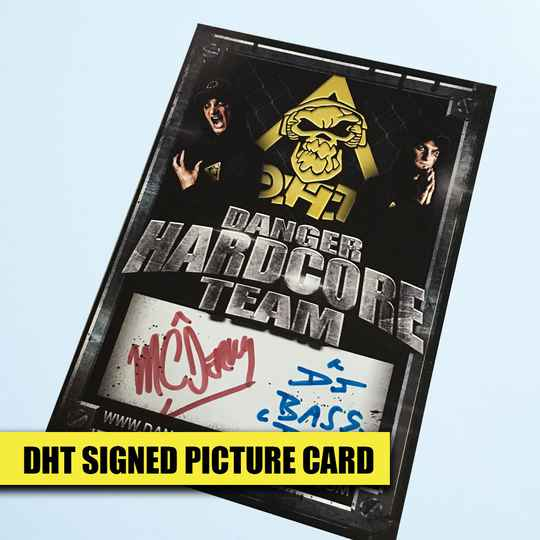 DHT Signed Picture Card