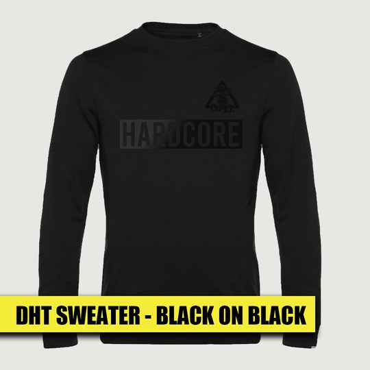 DHT Sweater - Black on Black