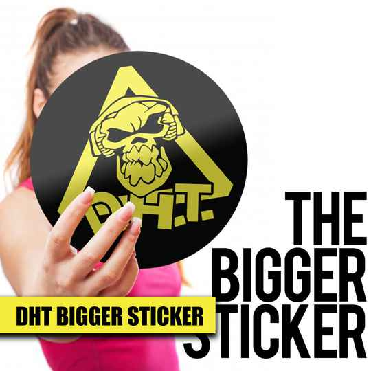 DHT Bigger Sticker