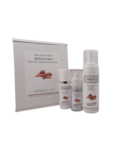GINKEL'S FACE CARE FOR MEN – @HOME BOX