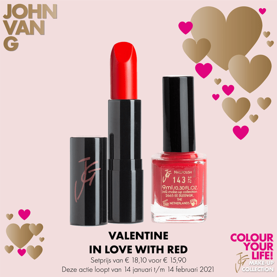 JVG – IN LOVE WITH RED
