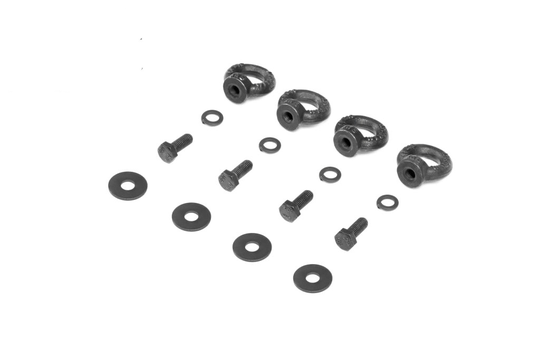 Rival Tie Down Ring Kit (4 Pcs) For Rival Modular Rack G-V-X Class (W460-W461-W463-W463a-W447-W639-W470) [PRO000423]