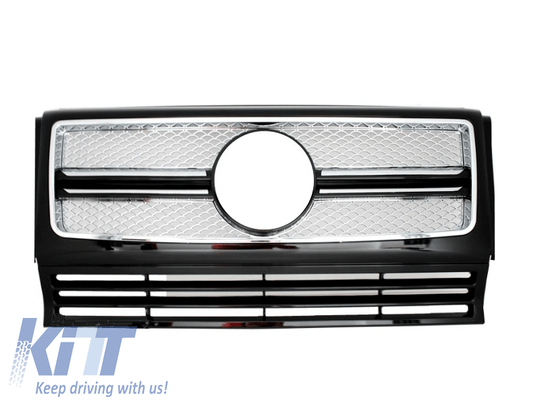 Front Grille suitable for MERCEDES G-Class W463 (1990-2014) New G65 Design  (W460 W461 W463 (Old) ) - [PRO000050]