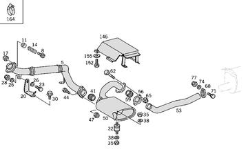 Exhaust System W461  [PRO001037]