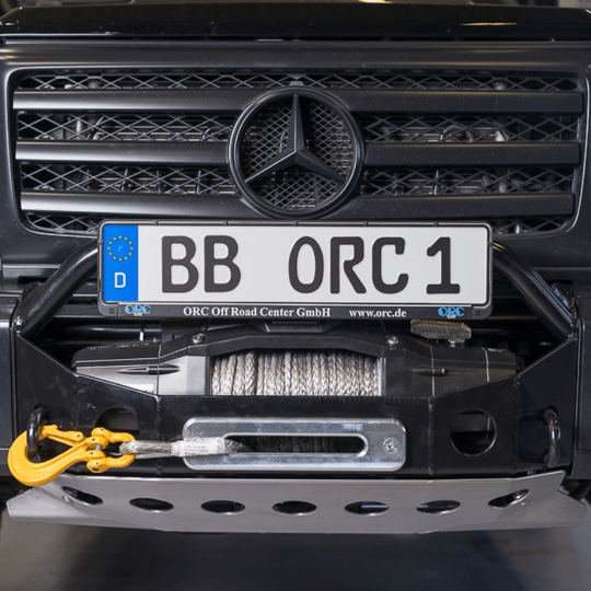 Underride Engine Protection for winch bumper part no. 1018982 Mercedes G 463 2016-2018 (W460 W461 W463 463a ) [PRO000088]
