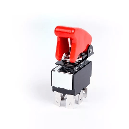 Trigger Switch On/Off For Winch Relais With Red Safety Cap  (W460 W461 W463 W463a) [PRO000123]