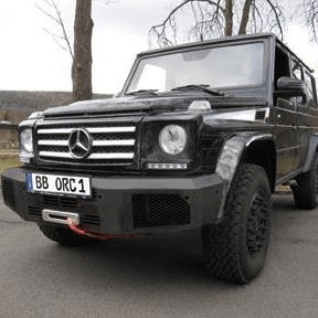 ORC Winch bumper Mercedes G as from model 2016 untill 2018 (W463 (Old) ) - [PRO000055]