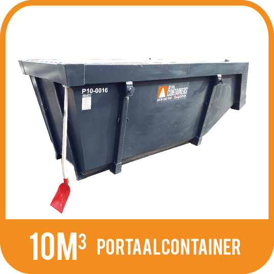 Houtafval | Portaalcontainer open 10m³