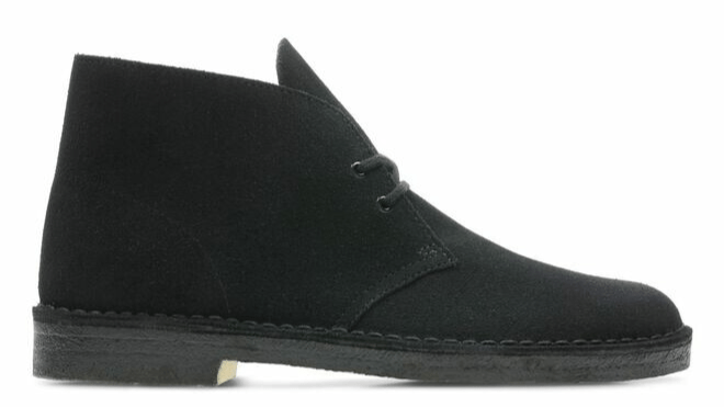 Clarks Art: 073.21.0003 / Desert Boot 2 Black Suede