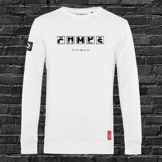 Play to Win Sweatshirt White