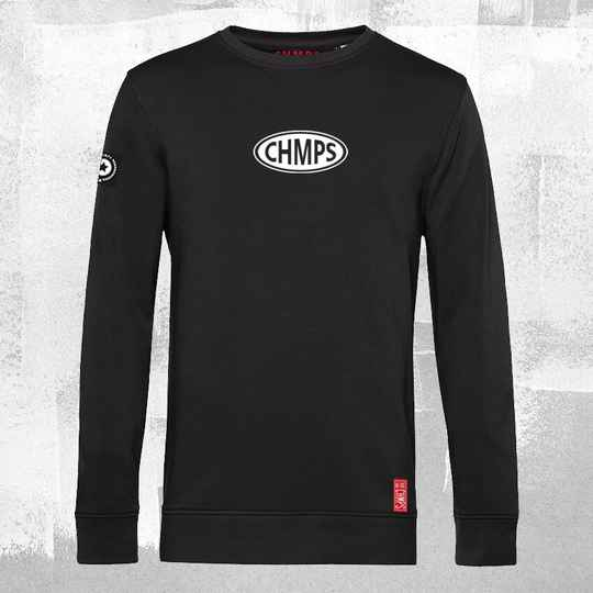 Oval Racing Sweatshirt Black