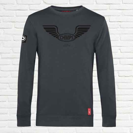 Free Wings Sweatshirt Charcoal