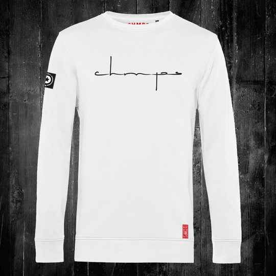Superscript Sweatshirt White