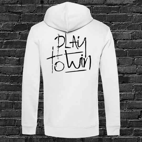 Play to Win Hoodie White