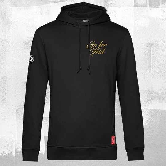 Go for Gold Hoodie Black