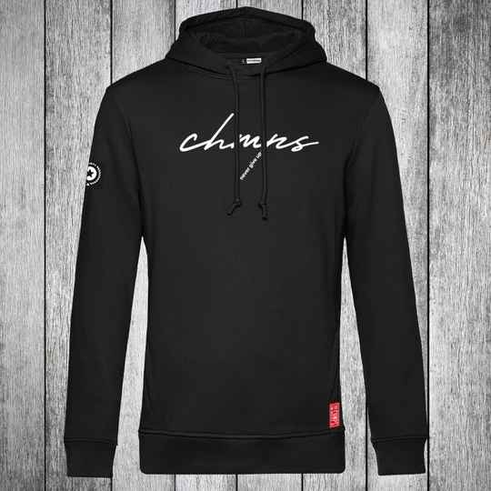 Never give up Hoodie Black