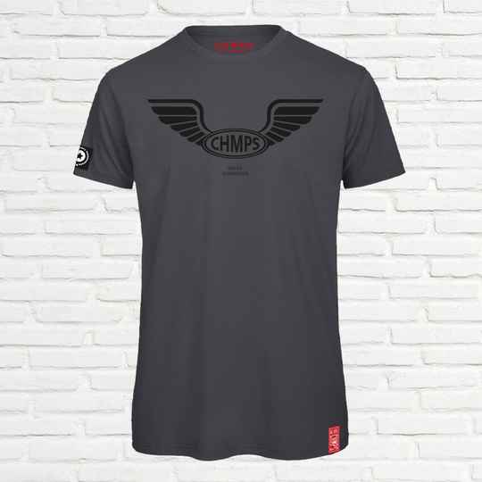 Free Wings T-shirt Charcoal
