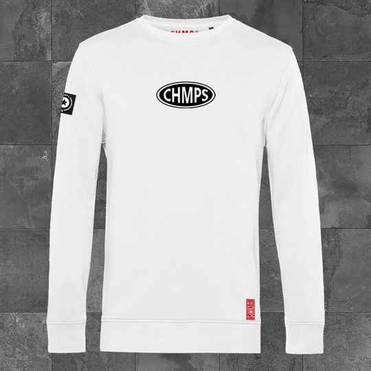 Oval Racing Sweatshirt White
