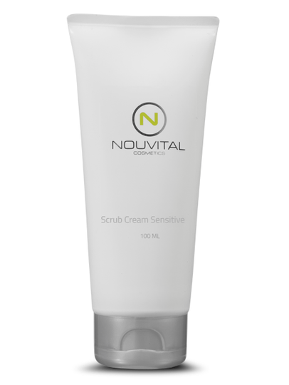 Scrub Cream Sensitive - Nouvital Cosmetics