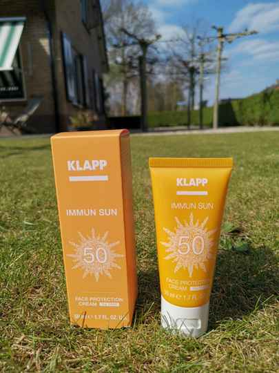 Klapp Immun Sun - Face Protection Cream SPF50