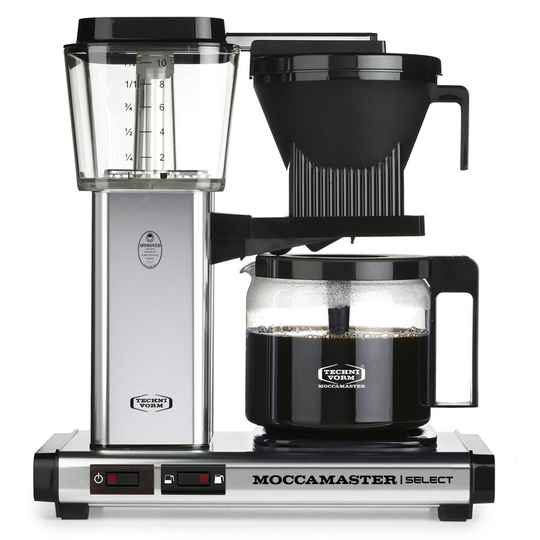 Moccamaster KBG Select - Polished Silver