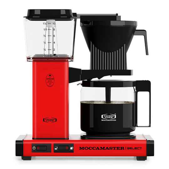 Moccamaster KBG Select - Red