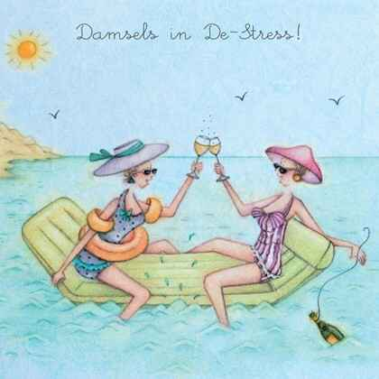 Damsels in De-Stress!