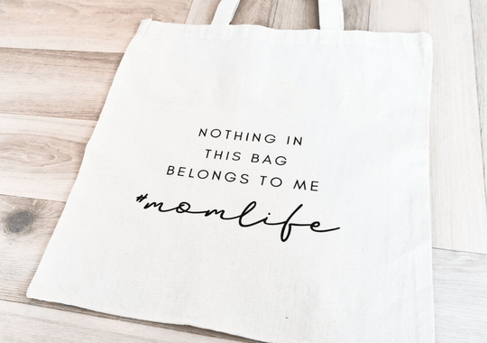 Katoenen tas | nothing in this bag