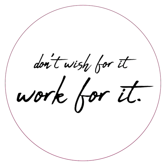 Tuincirkel | don't wish for it