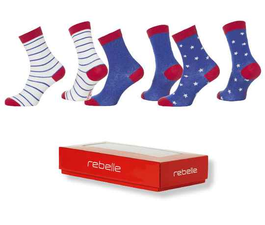 Rebelle socks 3*pack